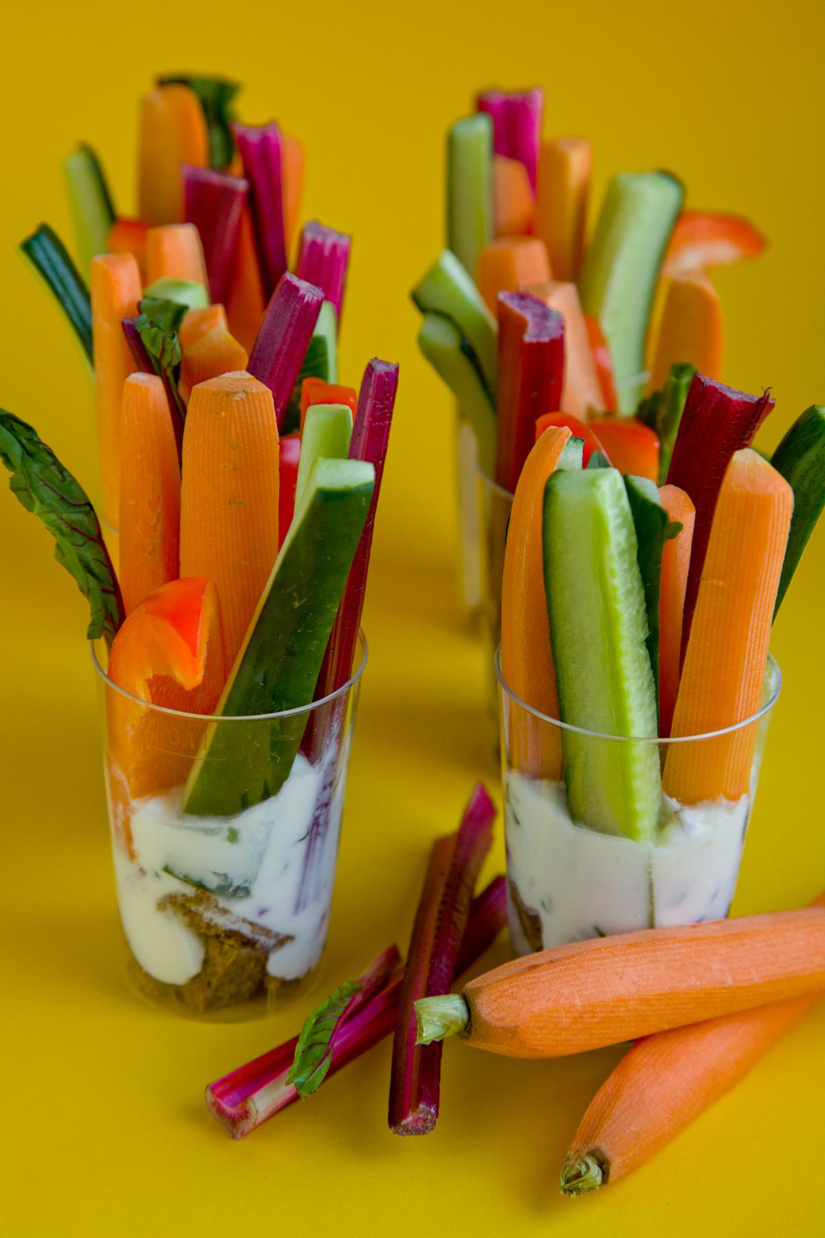 Sajtkrémes zöldségek
