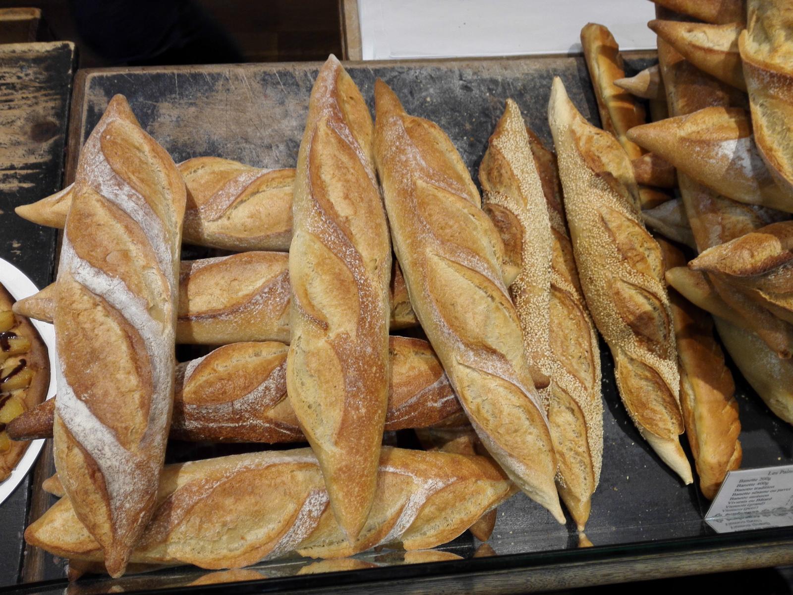francia kenyerek Lyonban