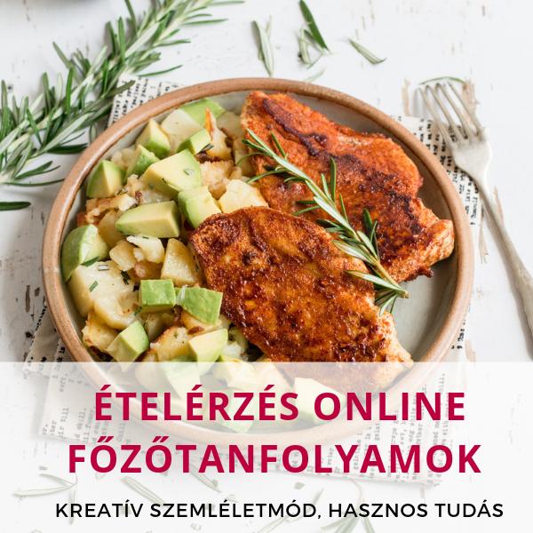 Online főzőtanfolyam