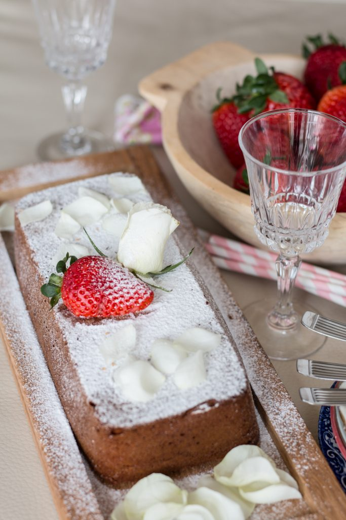 rózsavízes sütemény