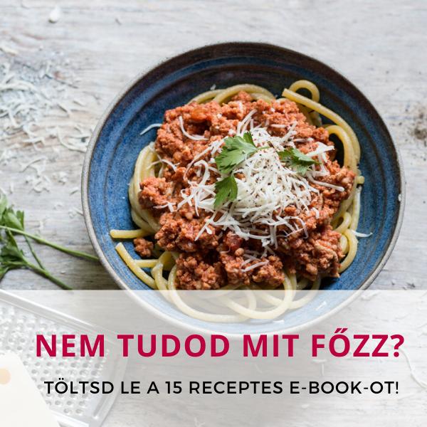 Copy of Mit Főzzek ebook
